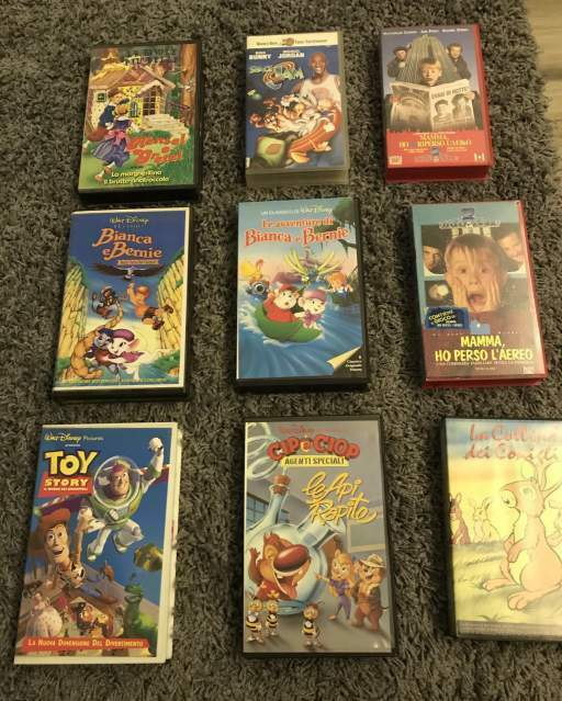 VHS Walt Disney e vari