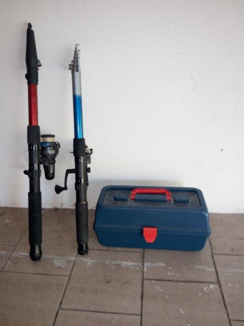 Canne pesca +mulinelli