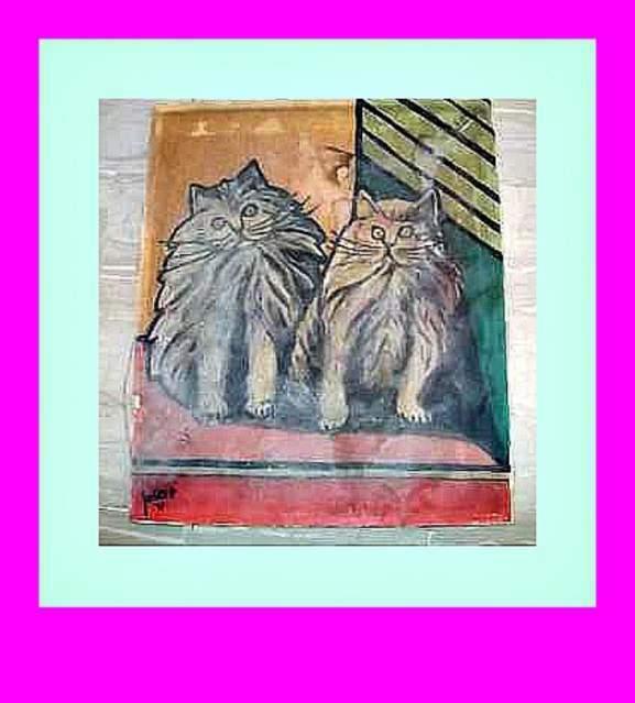 Dipinto a olio su tela (81-N)