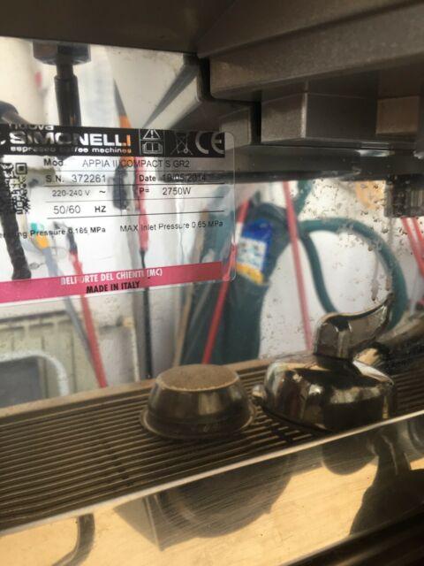 Macchina da caffè nuova simonelli Appia II compact