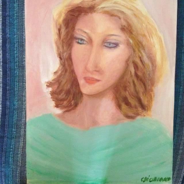 Opere a olio su tela pittrice C. DI GIACOMO