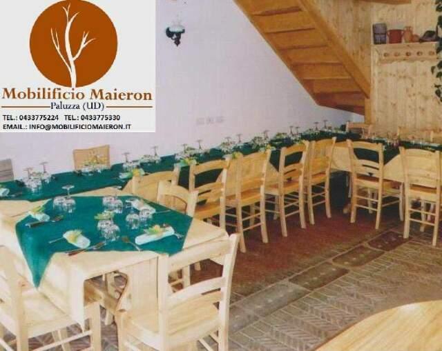 Sedie e Tavoli Ristoranti Bar Birrerie cod 998 in Legno
