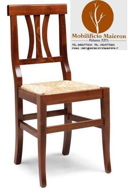 Sedie in legno Ristorante Bar Pizzeria Cod /P/Noce nuove