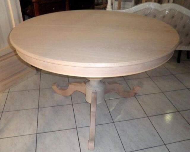 Tavolo rotondo allungabile da colorare - CONTRASSEGNO