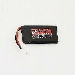 Batteria li-po 3,7v. 500mah 15c con adattatore per modelli