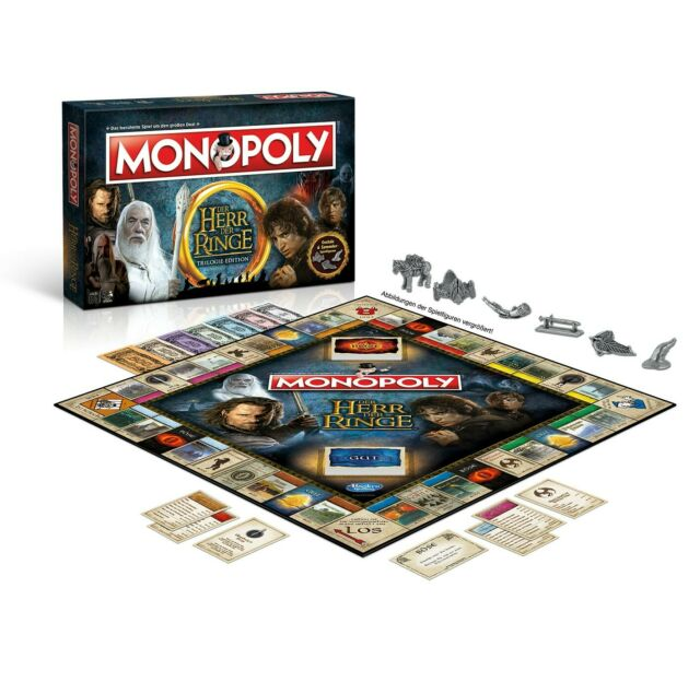 Gw jm lord of the rings board game monopoly *german