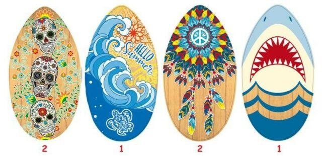 Gw jm tavola surf in legno 94 cm - spedizione in 5/10