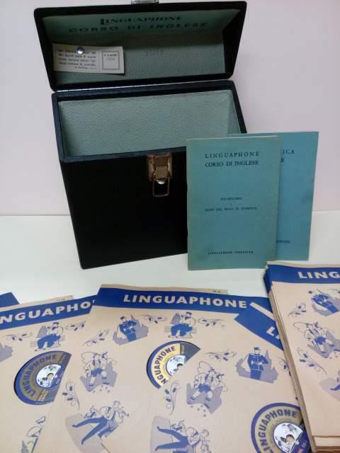 Corso di Lingua INGLESE su dischi - Vintage anni 50