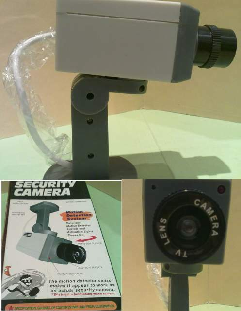 Security camera – telecamera finta – nuova