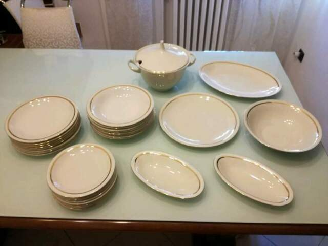 Servizio piatti 8 persone porcellana ceramica di Boheme