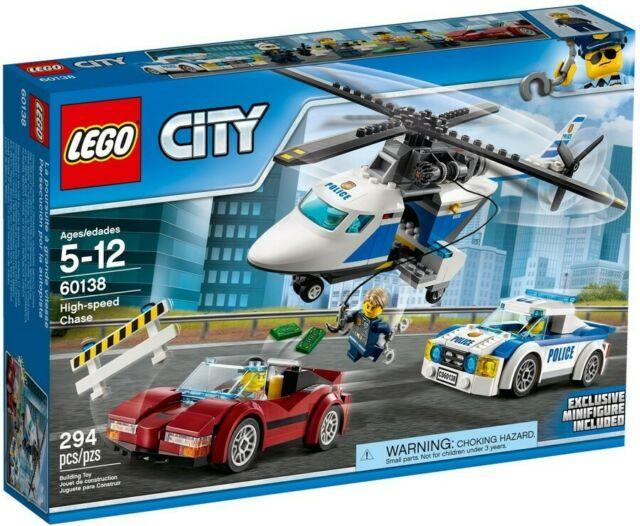 Gw jm lego city polizia  - inseguimento ad alta