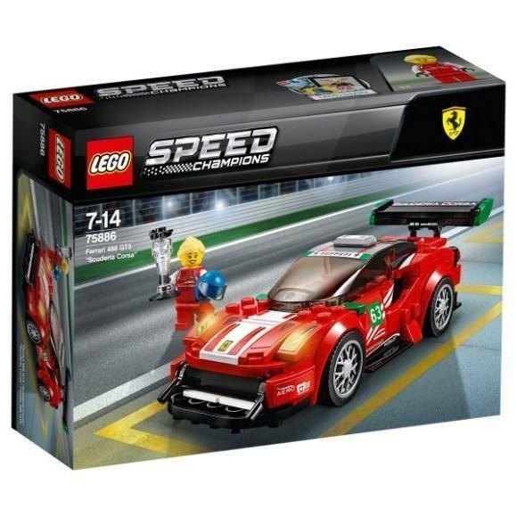 Gw jm lego speed champions ferrari  -