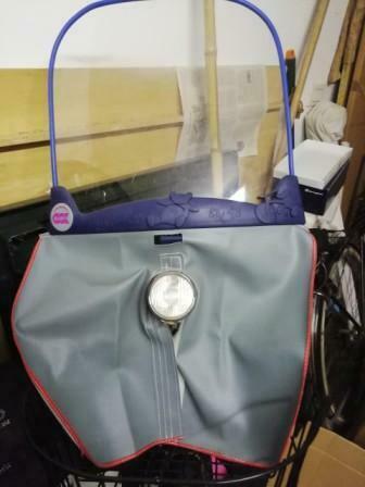 Parabrezza/paravento bici per bambino
