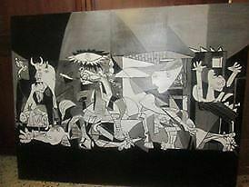 Guernica dipinto ad olio su tela copia di Piacsso