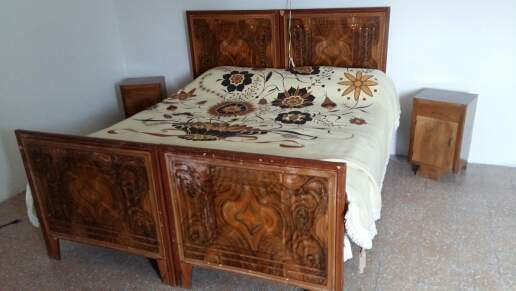Mobili antichi letto in ferro