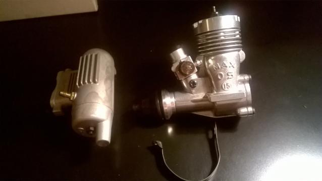 Motore O.S. MAX 15 R/C