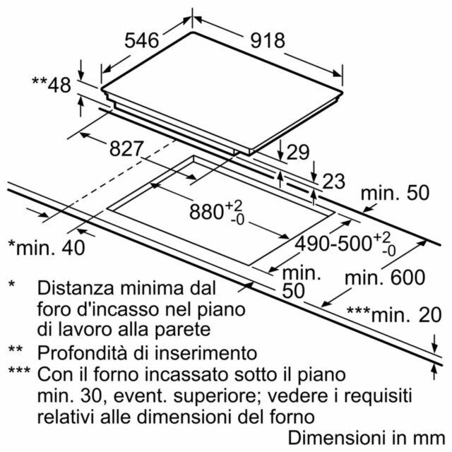 Piano Cottura Vetroceramica-Induzione NEFF