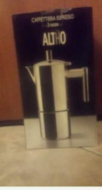 Vendo caffettiera Altho 2 tazze