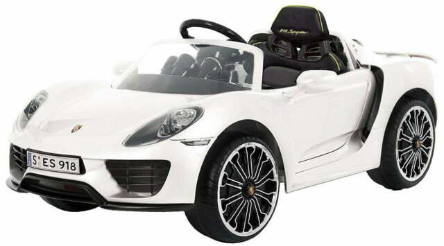 Macchina Elettrica Per Bambini 12v Con Radiocomando Porsche