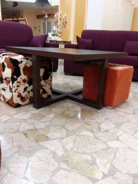 Tavolo da salotto moderno in wengè