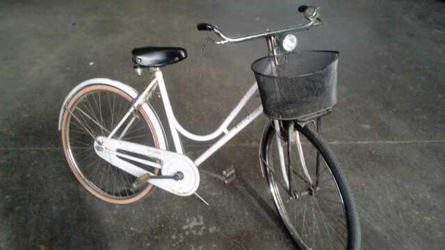 Bicicletta da donna VITTORIA freni a bacchetta
