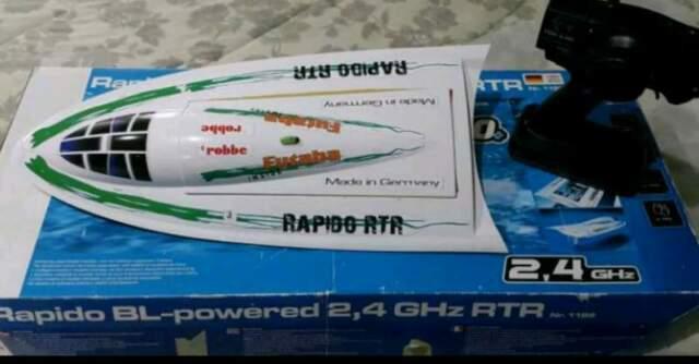 Motoscafo a batteria Rapido RTR veloce