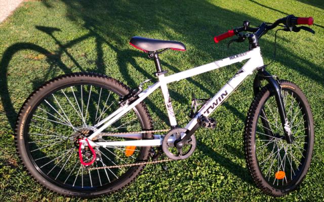 Mountain bike bambino come nuova 24 pollici