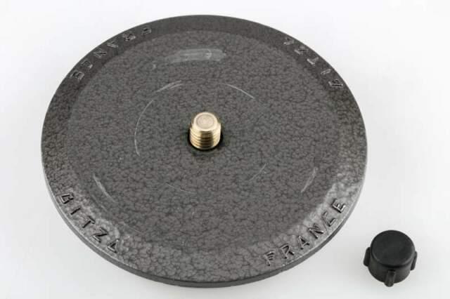Piastra per treppiede a base piatta rotonda Gitzo