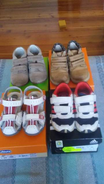 4 paia scarpe bimbo mis adidas zara rapallo   Posot Class