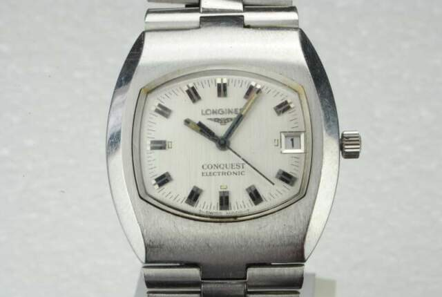 Longines Conquest Electronic Cal. anni70 Swiss Made