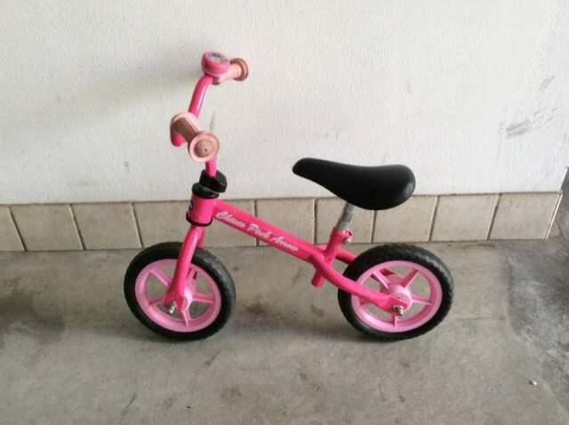 Bici bimba senza pedali