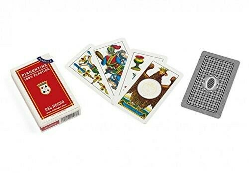 Gw jm dal negro  - carte da gioco piacentine 100%