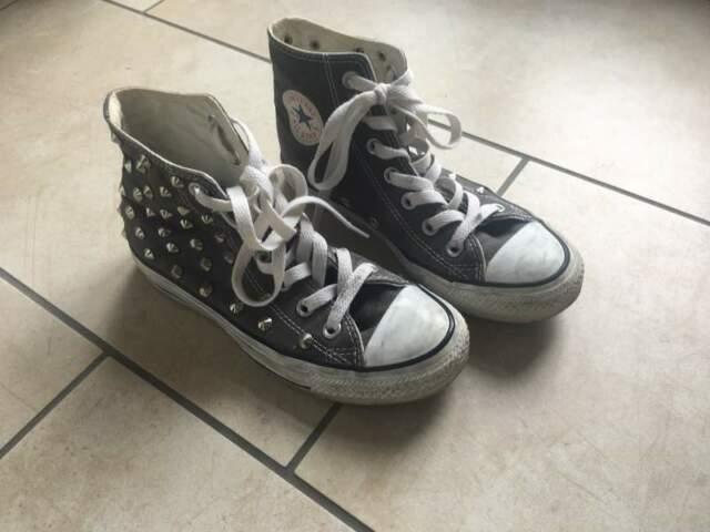 Sneakers scarpe con borchie tipo converse   Posot Class
