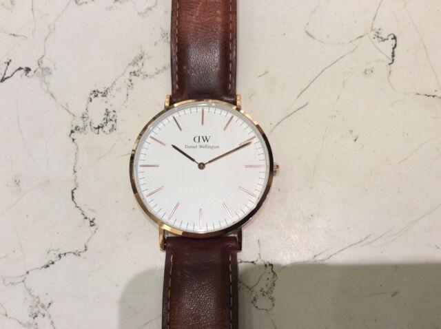 Daniel Wellington orologio usato come nuovo cassa 40 mm