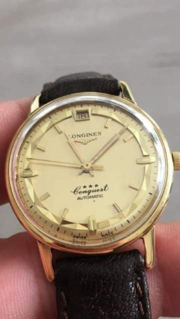 Longines Conquest Deluxe oro rosa 18kt
