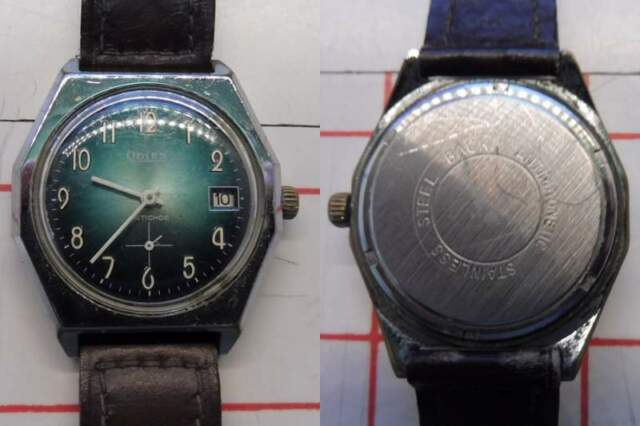 Orologio Vintage Odien anni 60 Suisse Made a carica manuale