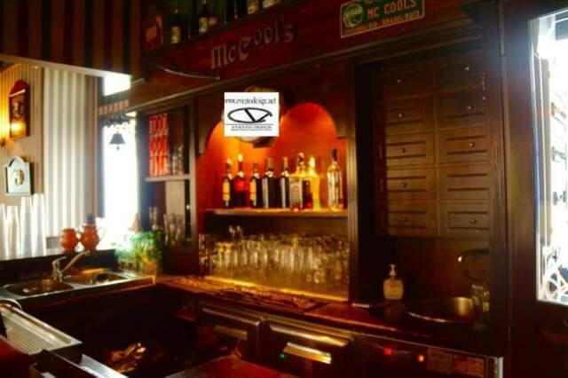 Banconi Bar Pub Pizzeria in stile shabby chic o irish pub