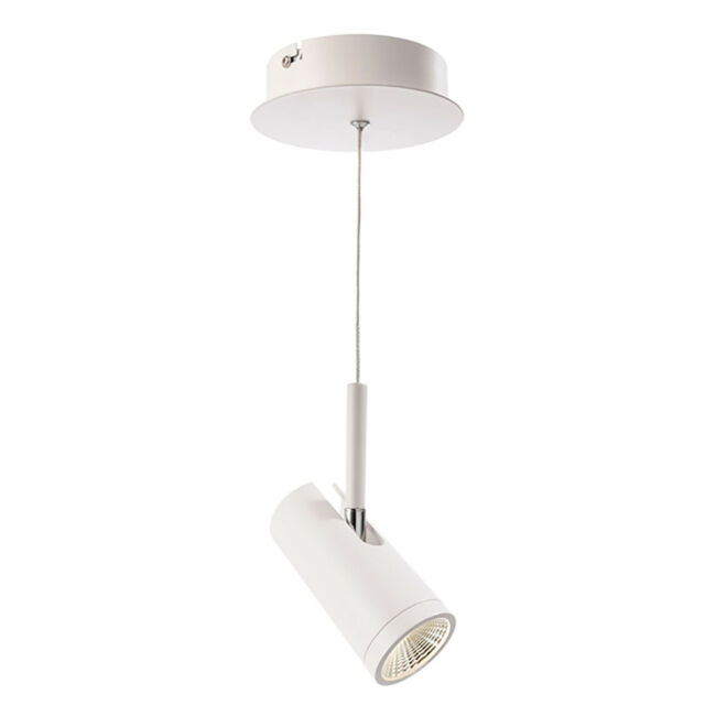 Lampada sospensione faretto spot orientabile LED COB 7W