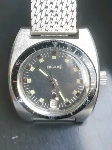 Diver vintage revue tb