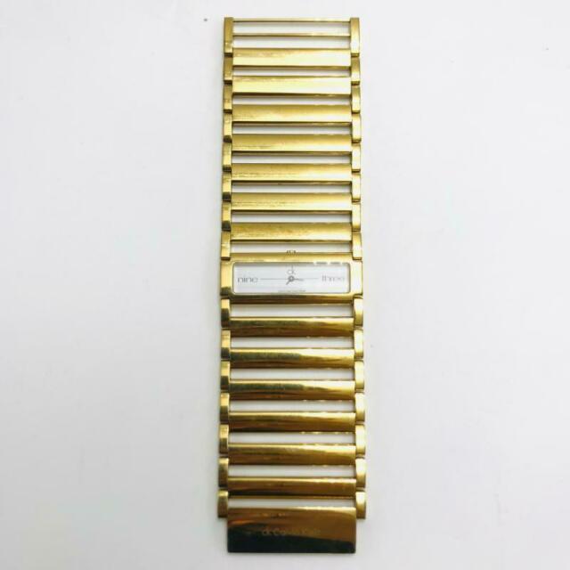 Orologio da polso dorato ck