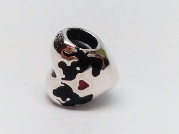 Pandora Disney Il bacio di Mickey e Minnie enmx