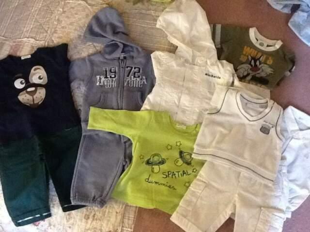Stock vestiti bimbo 3 e 6 mesi