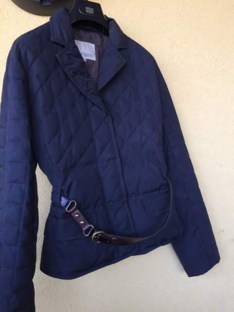 Vendo cappotto blu donna henry cotton's