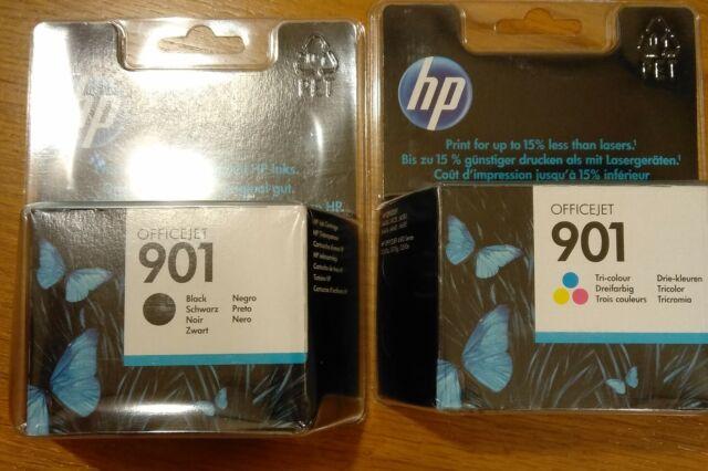 Cartucce HP 901 Nero + Colore Originali