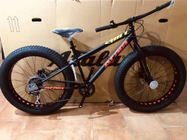 Fat bike atala bull disk nuove