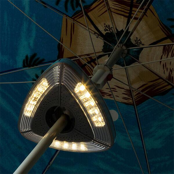 Lampada led per ombrellone ambiance