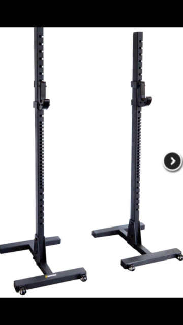 Rack professionali per squat, panca, military press..