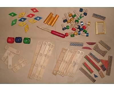 COSTRUZIONI gioco componenti in legno e plastica