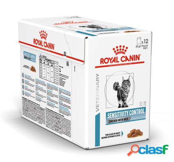 Royal canin diet gatto sensitivity pollo 12 x 85 gr