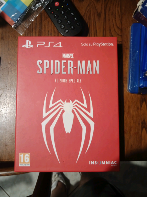 Spider man special edition ps4